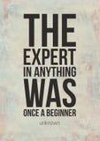 Плакаты Grunge мотивационные с цитатами дела Стоковая Фотография