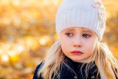 Плакать девушки Стоковое Изображение