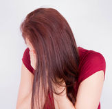 Плакать женщины Стоковое Фото