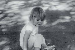 Плакать малыша стоковые фотографии rf