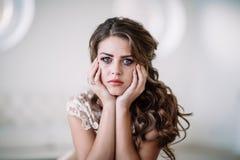 Плакать невесты Стоковые Фото