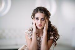 Плакать невесты Стоковое Фото