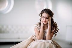 Плакать невесты Стоковое Изображение