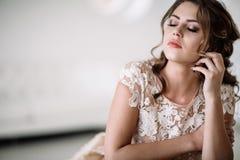 Плакать невесты Стоковая Фотография RF