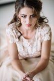 Плакать невесты Стоковая Фотография