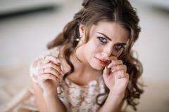 Плакать невесты Стоковое фото RF