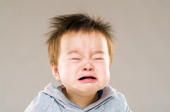 плакать ребёнка стоковая фотография rf