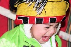 Плакать ребёнка Стоковое Изображение RF