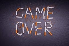 плакат Анти--табака Стоковая Фотография RF