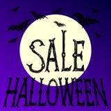 Плакат вектора хеллоуина бесплатная иллюстрация
