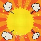 Плакат искусства шипучки Стоковые Фотографии RF