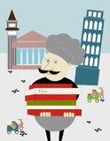 Плакат: Италия бесплатная иллюстрация