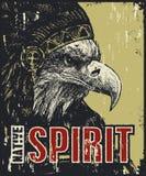 Плакат коренного американца Стоковая Фотография