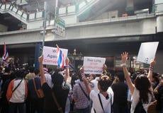 Плакат 2013 коррупции Таиланда анти- Стоковые Изображения RF