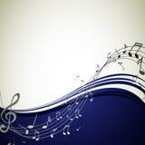 Плакат музыки Стоковые Фотографии RF