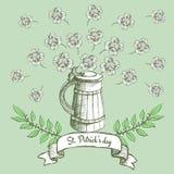Плакат дня St. Patrick бесплатная иллюстрация