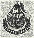 Плакат оформления иллюстрация штока