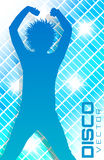 Плакат партии диско Стоковые Изображения RF
