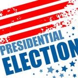 Плакат 2016 президентских выборов США также вектор иллюстрации притяжки corel Стоковое Изображение RF