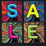 Плакат продажи Стоковое Фото