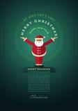 Плакат рождества Стоковое Изображение