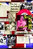 Плакат стены известными панковскими ПИСТОЛЕТАМИ СЕКСА диапазона Стоковые Фото