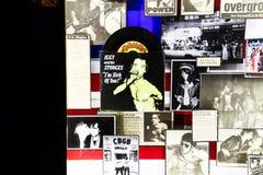 Плакат стены известными панковскими ПИСТОЛЕТАМИ СЕКСА диапазона Стоковые Фотографии RF