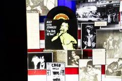 Плакат стены известными панковскими ПИСТОЛЕТАМИ СЕКСА диапазона Стоковое фото RF