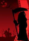 Плакат ужаса Стоковое Изображение