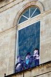Плакат, фестиваль театра Авиньона Стоковое Изображение RF