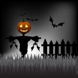 Плакат хеллоуина Стоковое Изображение