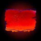 Плакат хода акварели Стоковая Фотография RF