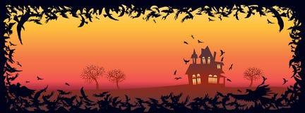 плакат halloween счастливый Стоковое Фото