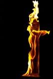 Пламена пожара Стоковое фото RF