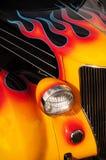 Пламенеющая горячая штанга Стоковые Фото