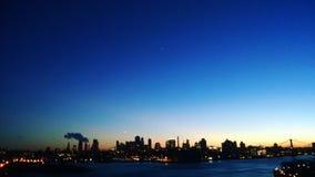 Пламенеющий город Стоковое фото RF
