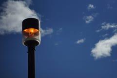 Пламенистая лампа Стоковая Фотография