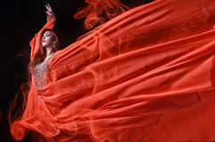 Пламенистая страсть Стоковое Фото