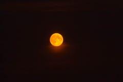 пламенистая луна Стоковые Изображения