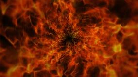 Пламенистое кольцо, пламена предпосылка, природа Стоковая Фотография RF