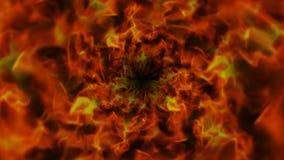 Пламенистое кольцо, пламена предпосылка, природа Стоковые Фотографии RF