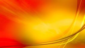 Пламенистый рассвет, обои разрешения 4k иллюстрация вектора