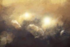 пламенистый дым Стоковые Фото