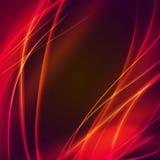 Пламя вектора абстрактное Стоковое Изображение RF