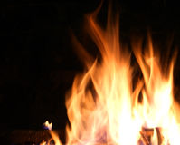 Пламя огня стоковые изображения