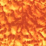 Пламя текстура безшовных и предпосылки Tileable Стоковая Фотография