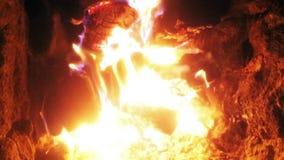 Пламя темы видеоматериал