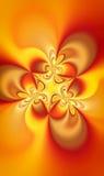 Пламя души фрактали Стоковая Фотография
