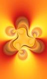 Пламя души фрактали Стоковое Изображение RF
