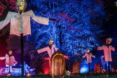Пламя хеллоуина Стоковое Изображение RF